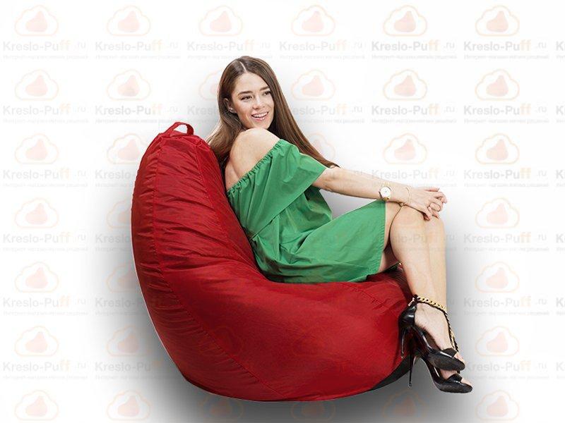 Кресло-груша MAXI Oxford красный 1