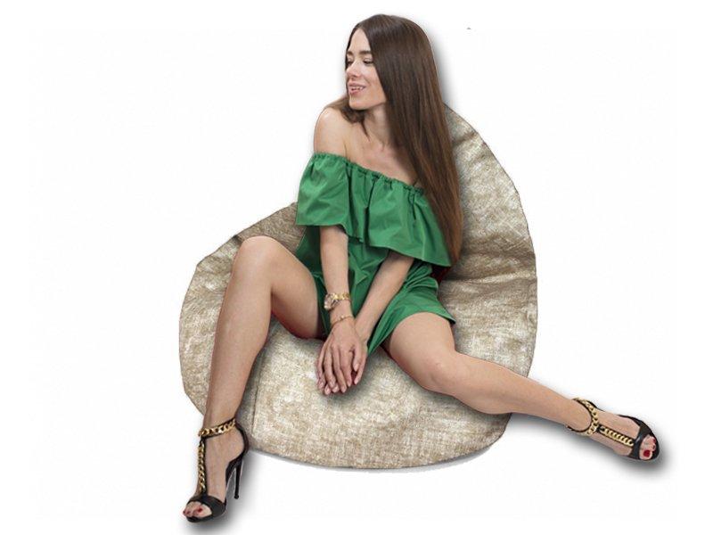 Кресло-груша Comfort Avon бежевый 2