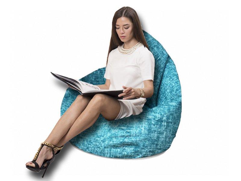 Кресло-груша Comfort Avon бирюзовый 2