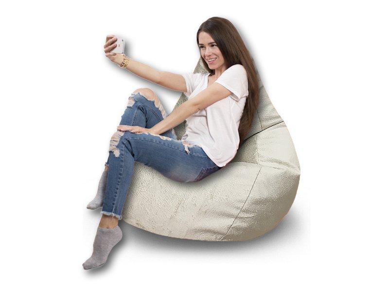 Кресло-груша Comfort Hippo белый 2