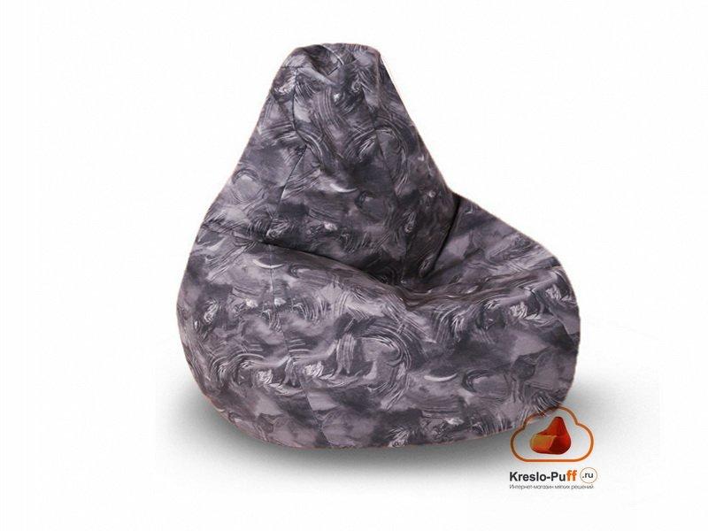 Кресло-груша MAXI FANTASY серый