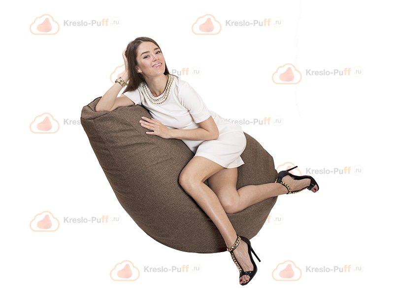 Кресло-груша Comfort DENDY коричневый