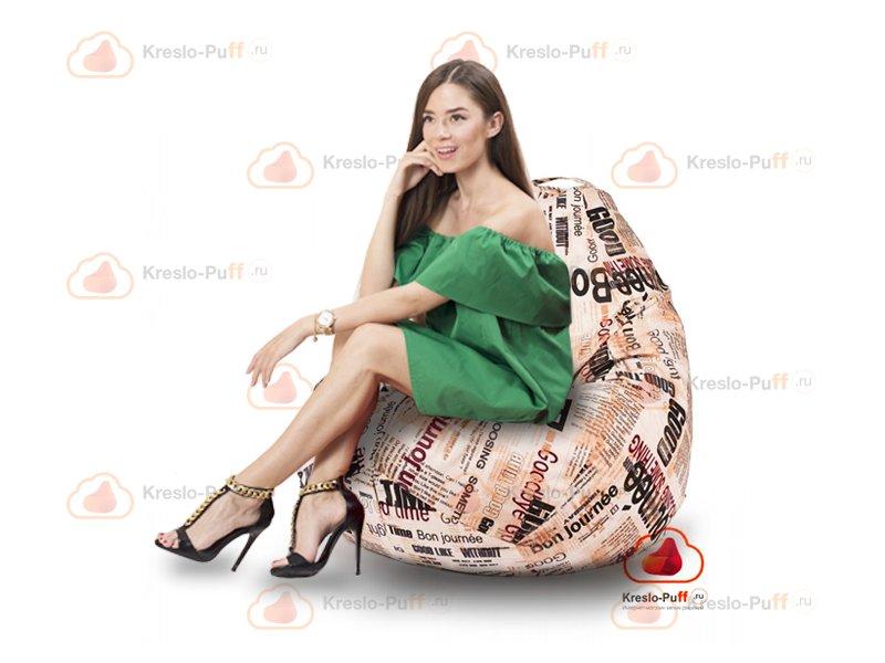 Кресло-груша MAXI NEWS