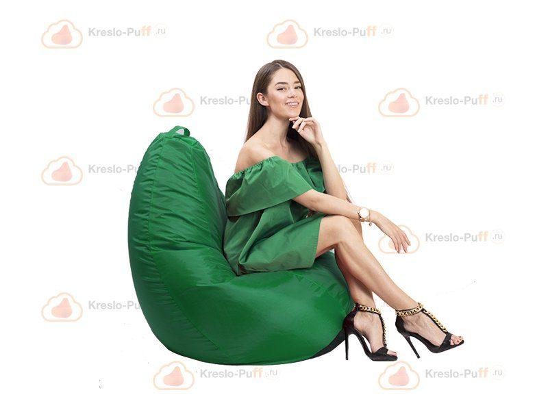 Кресло-груша MAXI Oxford зеленый 1