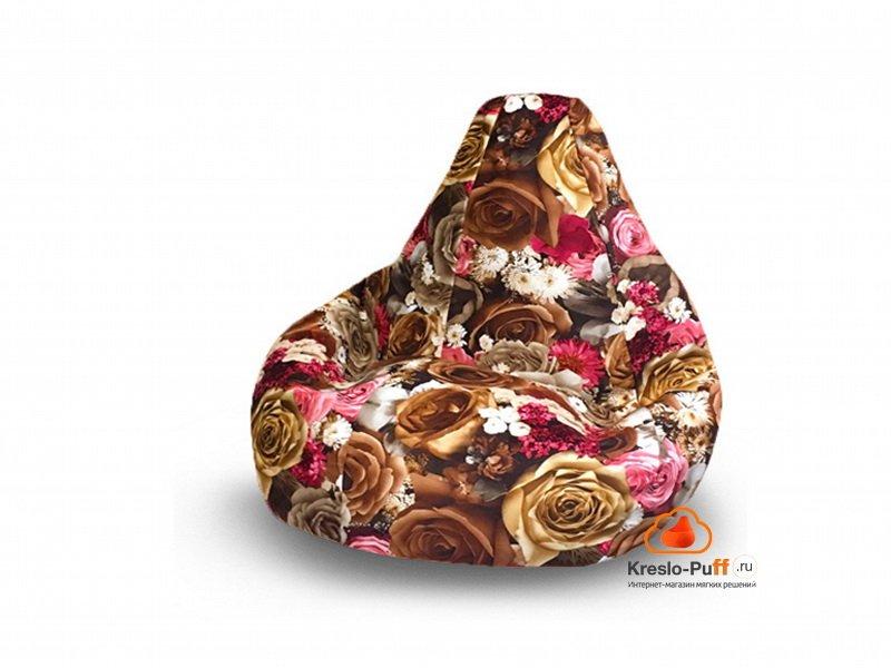 Кресло-груша MAXI Rose коричневый