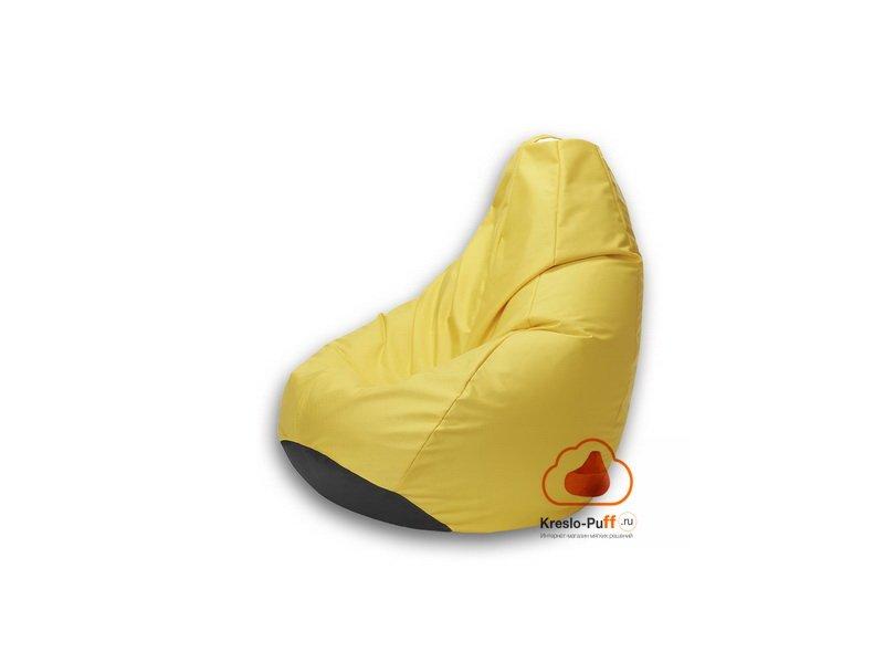 Кресло-груша MINI Oxford желтый