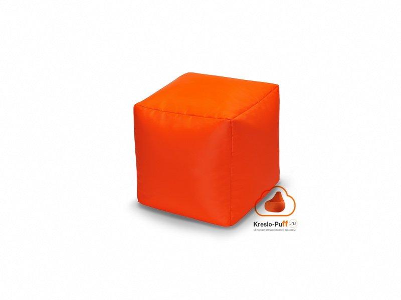 Кресло-мешок Пуфик кубик оранжевый