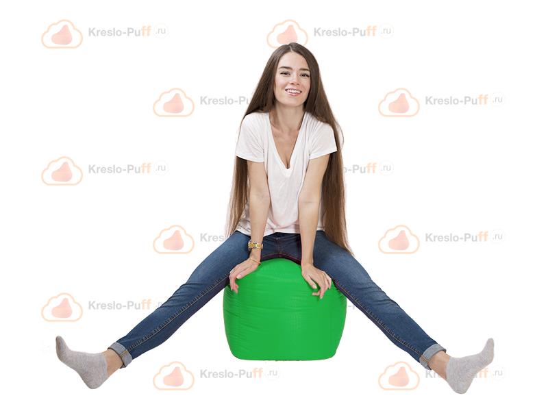 Кресло-мешок Пуфик кубик зеленый 1