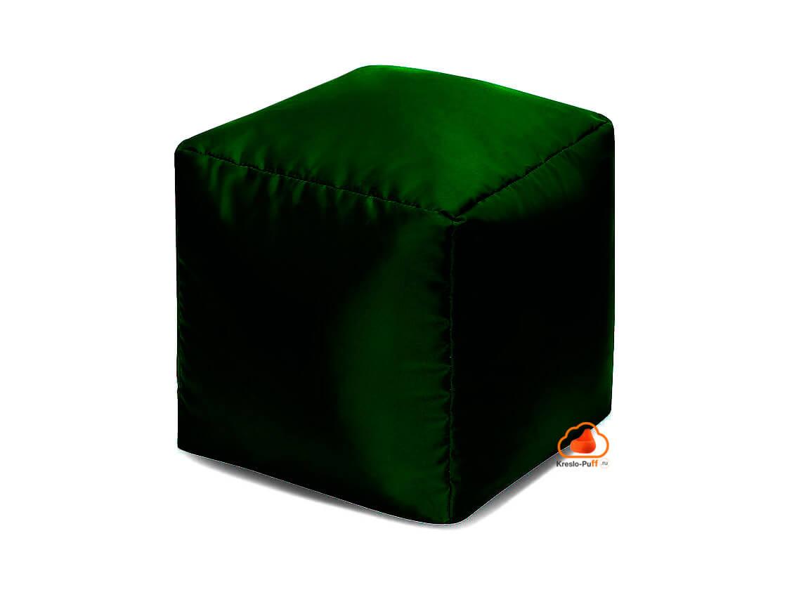Кресло-мешок Пуфик кубик зеленый
