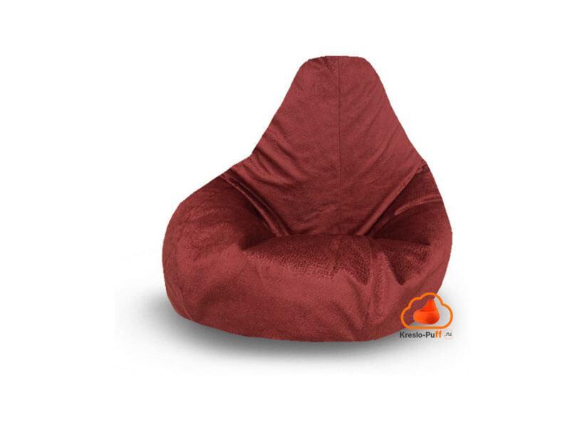Кресло-груша Maxi Hippo красный