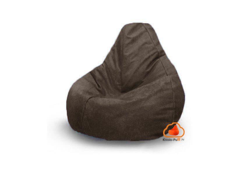 Наружный чехол кресло-груша Comfort Мамба - коричневый