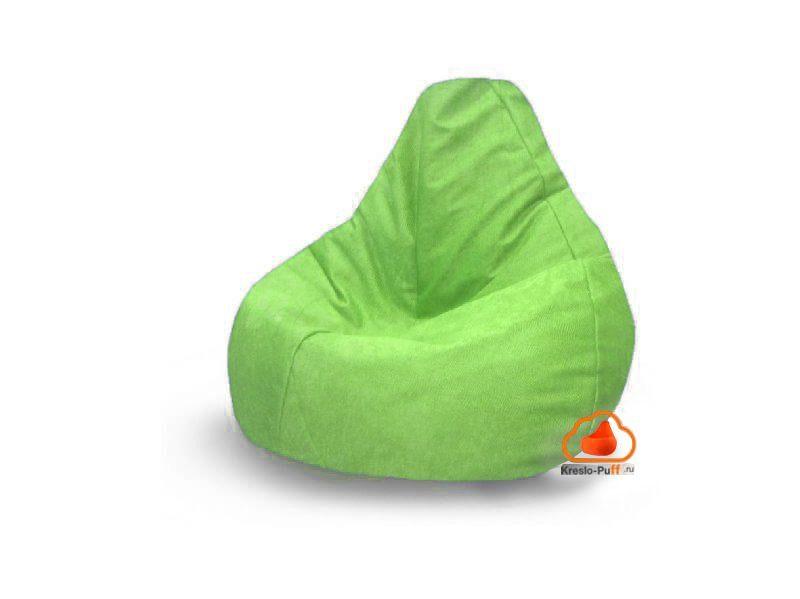 Наружный чехол кресло-груша Comfort Мамба - зеленый
